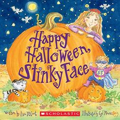 happy halloween stinky face books for kids