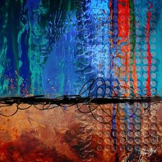 Abstract art by Gina Startup #abstract art
