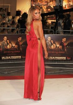 693b005304 Lauren Pope wears a Daring Gown