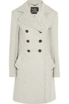 10fd248e99ae Vivienne Westwood Anglomania - Corgi wool-blend coat. Double Breasted  CoatDesigner Clothes ...