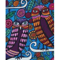 Two Owls Kit $78.54  www.GeckoRougeGallery.com