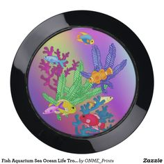 Shop Fish Aquarium Sea Ocean Life Tropical USB Charging Station created by ONME_Prints. Georgia Aquarium, Aquarium Fish, Hide Cable Box, Usb Charging Station, Fish Design, Sea And Ocean, Outdoor Art, Animal Quotes, Red Poppies