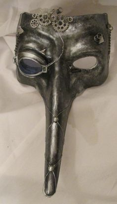 Steampunk Plague mask.  Plague Doctor. Steam punk. by MyMascarade
