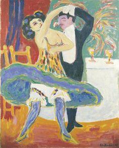 ERNST LUDWIG KIRCHNER  Vaudeville Theatre (English Dancing Couple)1912/13