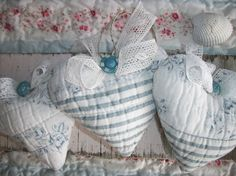 Beach Cottage Lavender Hearts Sachets Best Gift