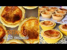 (3) TARTELETTES ou TORTINHAS DE LEITE CONDENSADO | MUITO FÁCIL DE FAZER | DIKA DA NAKA - YouTube Churros, Cheesecake, Muffin, Food And Drink, Cooking, Breakfast, Youtube, Diabetes, Delicious Desserts