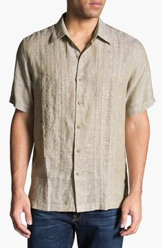 The bowling shirt. (I'm not really into linen)