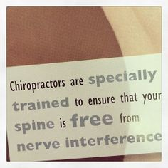 Upper Cervical #Chiropractors are trained to free the spine of nervous interference! http://DrJockers.com