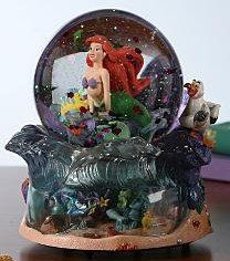 Disney Little Mermaid Snowglobe
