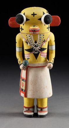 Hopi Cottonwood Kachina Doll, c. 1950