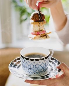 Beautiful Afternoon Tea with House of Rym porcelain