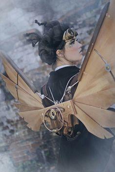Orientaleggiante | Steampunk wings