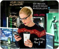Important markings of a Genuine Felicity Megan Smoak married to Oliver Jonas Queen.