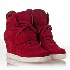 0910edb9fda5 Cool Wedge Sneaker Rubis Suede love these. june hall · shoes