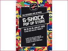 Casio s'installe comme boutique éphémère à la Cremerie de Paris G Shock, Pop Up, Stores, Casio, Comme, Popup