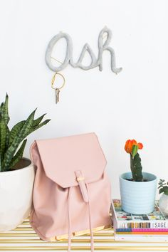 I wouldn't say this is my favorite project of all time, but this DIY hanging monogram is made with a material you'll definitely want to use again and again!