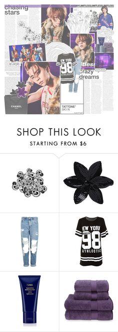"""""""Say My Name"""" by taeangel ❤ liked on Polyvore featuring ASOS, Chanel, Topshop, Oribe, Christy, kpop, Johnny, nct and johnnyseo"""