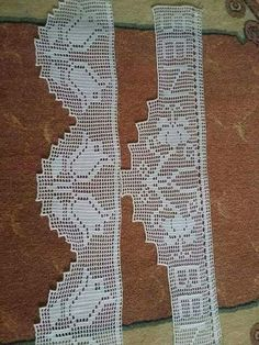 This Pin was discovered by Zey Crochet Boarders, Crochet Lace Edging, Crochet Squares, Filet Crochet, Easy Crochet, Crochet Toys, Crochet Patterns, Russian Crochet, Lace Border