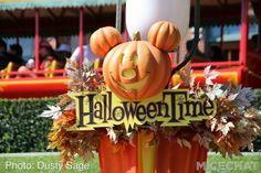 Halloween time at Disneyland :)