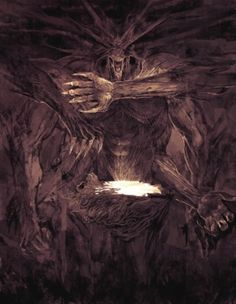 """Ahriman, the principle of evil in Persian mythology, was personified as Angra Mainya, """"the destructive spirit,"""" who introduced death into the world. He led the forces of evil against the host of Spenta Mainya, """"the holy spirit,"""" who assisted Ahura Mazdah, """"the wise lord"""" and final victor in the cosmic war."""