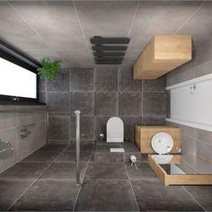 Dlažba Tassero #koupelnygres #3ddesign #bathroomdesign #bathroomvisualization #cerrad #tassero Bathtub, Bathroom, Home, Standing Bath, Washroom, Bathtubs, Bath Tube, Full Bath, Bath