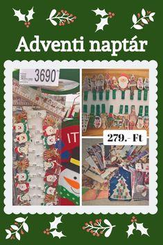 Alkotás örömével összekötött spórolás. Advent Calendar, Holiday Decor, Diy, Bricolage, Advent Calenders, Do It Yourself, Homemade, Diys, Crafting