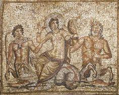 A ROMAN MARBLE MOSAIC    #roman #mosaic