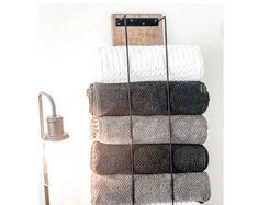 Steel towel rack metal towel holder towel storage towel   Etsy