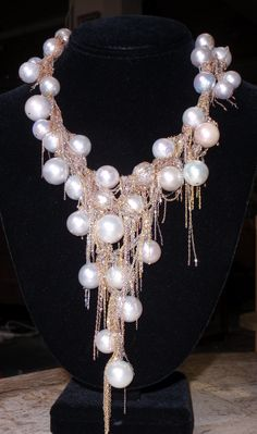 South Sea Pearls, 14K Yellow, Rose, White Gold