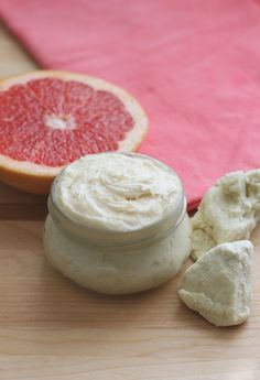Red Grapefruit Whipped Body Lotion   This creamy body lotion is light and smooth with the scent of grapefruit and almond. It is a simple hom...