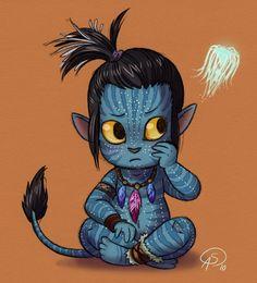 Na'vi Child by GantzAistar on deviantART