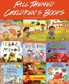 Fall Themed Childrens Books