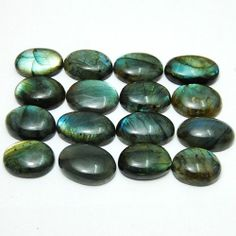 503ct/16pc Exclusive Rainbow Color Play Natural African Labradorite~pendant size