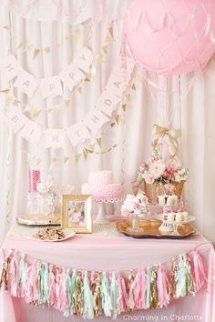 Hot Air Balloon First Birthday Brunch www.charmingincharlotte.blogspot.com
