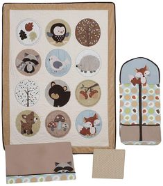 Lambs And Ivy Enchanted Forest Baby Bedding For Baby