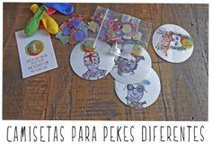 T-shirts for diferents kids POTAPOT_Gisela Carreño.