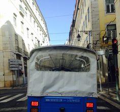 A caminho do Chiado. On the way to Chiado. #Tuktuktejo #Ecotours #Lisbontours #Lisboa #Lisbon #Lisbonne #Chiado