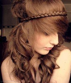 Braid Wrap cute hair hair color braid hairstyle hair ideas hair cuts