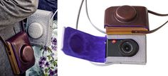 Not really a purse, but still pursuable:  Paul Smith for Leica camera cases.