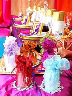 arabian nights party  | ... bags for arabic theme party table decoration and after party fidts