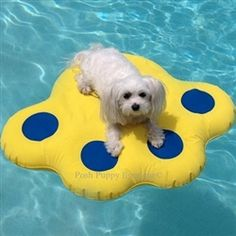 Inflatable Raft for Pool - Blue/Yellow