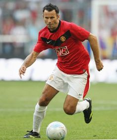 Ryan Giggs:started his debut with Sir Alex Ferguson at age 14! and started playing professional soccer at age 17. now, 39 years old and still amazing at soccer, clean player, and great role model for other sports players