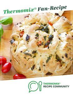Recipe Bruschetta Pullapart by The Princess and the Pastry Brush, learn to make this recipe easily in your kitchen machine and discover other Thermomix recipes in Breads & rolls. Dough Recipe, Thermomix Bread, Bread Recipes, Cooking Recipes, Recipe Community, Bread Rolls, Bruschetta, Food To Make, Breads