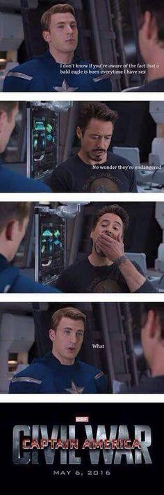 Hahaha! Poor Captain America!