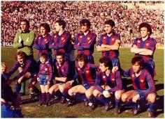 BARCELONA contra Hércules de Alicante 07/03/1982