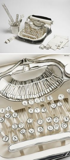 katharine morling ... porcelain typewriter <3