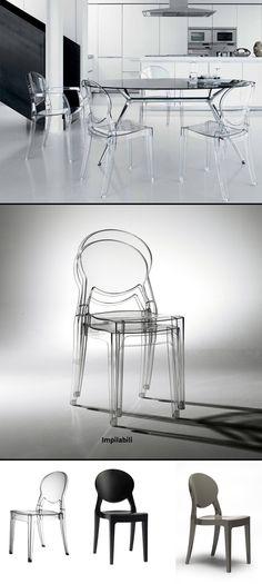 Bellissima sedia adatta in qualsiasi ambiente anche esterno.