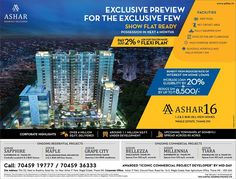 Check out our ad in Times Property Ashar 16 - Waghle Estate, Thane 1, 2 & 3 BHK Hill-View Homes Pay Just 2% - Ask for Tailor-Made Flexi Plan* www.ashar.in #RealEstate #Thane #Residential #Property #Newspaper #Media #TimesProperty #TOI