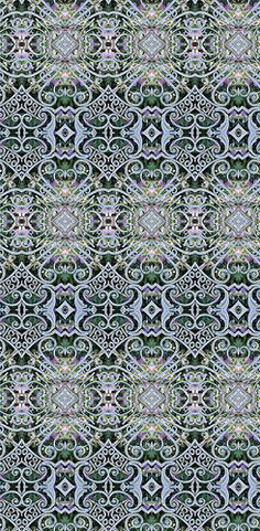 Ornate gate pattern