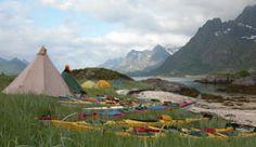 The Lofoten Islands in Northern Norway - Photo: Lofoten Kajakk/Jann Engstad